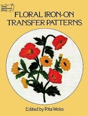 Cover of: Floral Iron-on Transfer Patterns