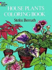 Cover of: House Plants Coloring Book | Stefen Bernath