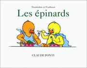 Cover of: Les épinards