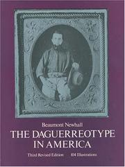 Cover of: The daguerreotype in America by Beaumont Newhall