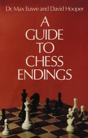 Cover of: A guide to chess endings