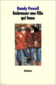 Cover of: Embrasser une fille qui fume