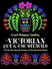 Cover of: Victorian cut & use stencils
