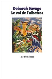 Cover of: Le vol de l'albatros