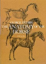 Cover of: anatomy of the horse | George Stubbs