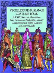 Cover of: Vecellio's Renaissance costume book