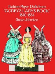 Cover of: Fashion Paper Dolls from Godey's Lady's Book, 1840-1854