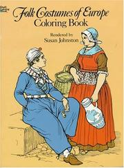 Cover of: Folk Costumes of Europe Coloring Book