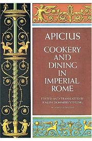 De re coquinaria by Apicius.
