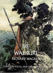 Cover of: Die Walkure