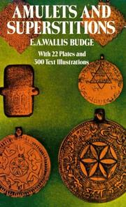 Cover of: Amulets and superstitions