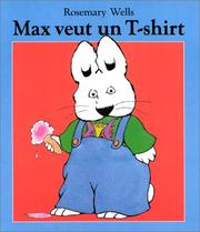 Cover of: Max veut un t-shirt