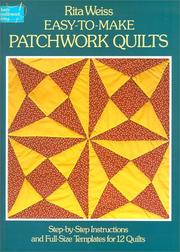 Cover of: Easy-to-make patchwork quilts