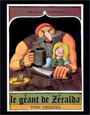 Cover of: Le Geant De Zeralda by Ungerer