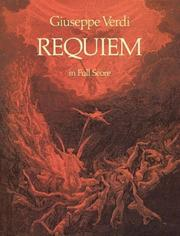 Cover of: Requiem: for four solo voices and chorus