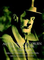Cover of: Alvin Langdon Coburn, photographer