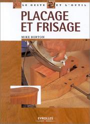 Cover of: Placage et frisage