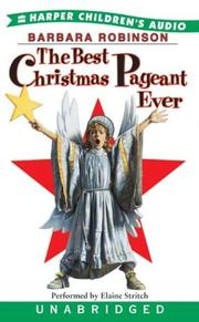 Cover of: The Best Christmas Pagaent Ever |
