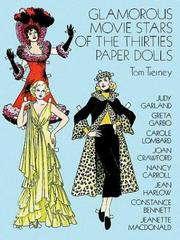 Cover of: Glamorous Movie Stars of the Thirties Paper Dolls