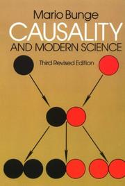 Cover of: Causality and modern science