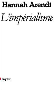 Cover of: L'Impérialisme
