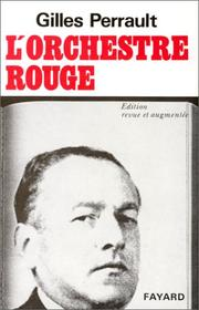 Cover of: L' Orchestre rouge