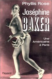 Cover of: Joséphine Baker