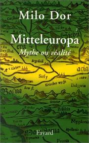Cover of: Mitteleuropa