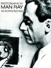 Cover of: Photographs by Man Ray