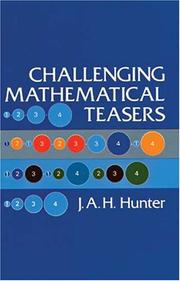 Cover of: Challenging mathematical teasers