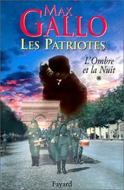 Cover of: Les Patriotes, tome 1