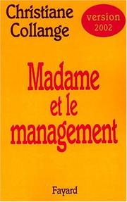 Cover of: Madame et le management