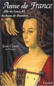 Cover of: Anne de France