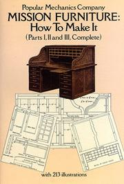 Mission furniture, how to make it by H. H. Windsor