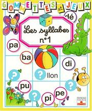 Cover of: Les Syllabes 1