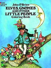 Cover of: Elves, Gnomes, and Other Little People Coloring Book
