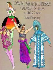 Cover of: Pavlova and Nijinsky Paper Dolls in Full Color | Tom Tierney