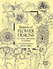 Cover of: Treasury of flower designs, for artists, embroiderers & craftsmen
