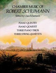 Cover of: Chamber Music of Robert Schumann