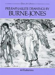 Cover of: Pre-Raphaelite drawings by Burne-Jones