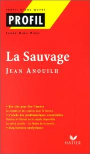 Cover of: La sauvage