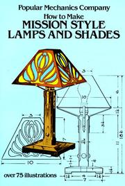 How to make mission style lamps and shades by John Duncan Adams