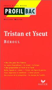 Cover of: Tristan et Yseut. Béroul