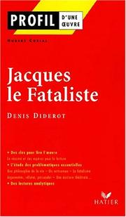 Cover of: Jacques le fataliste