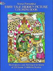 Cover of: Fairy Tale Hidden Picture Coloring Book
