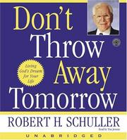 Cover of: Don't Throw Away Tomorrow CD