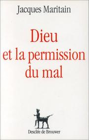 Cover of: Dieu et la permission du mal