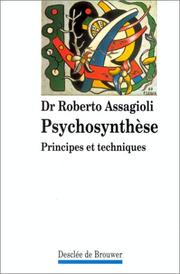 Cover of: Psychosynthèse