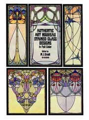 Cover of: Authentic art nouveau stained glass designs in full color |