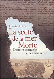Cover of: La secte de la mer morte